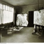 Moriz Nähr, Atelierraum Klimts, 1918 © IMAGNO / Austrian Archives