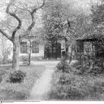 Moriz Nähr, Außenansicht von Klimts Ateliers, 1918 © IMAGNO / ÖNB