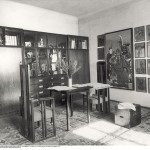 Moriz Nähr, Vorraum zum Atelier Klimts, 1918 © IMAGNO / Austrian Archives